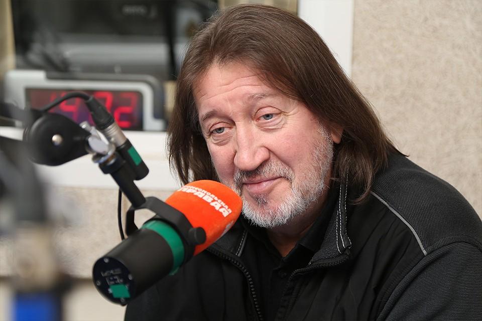 Олег Митяев на радио.