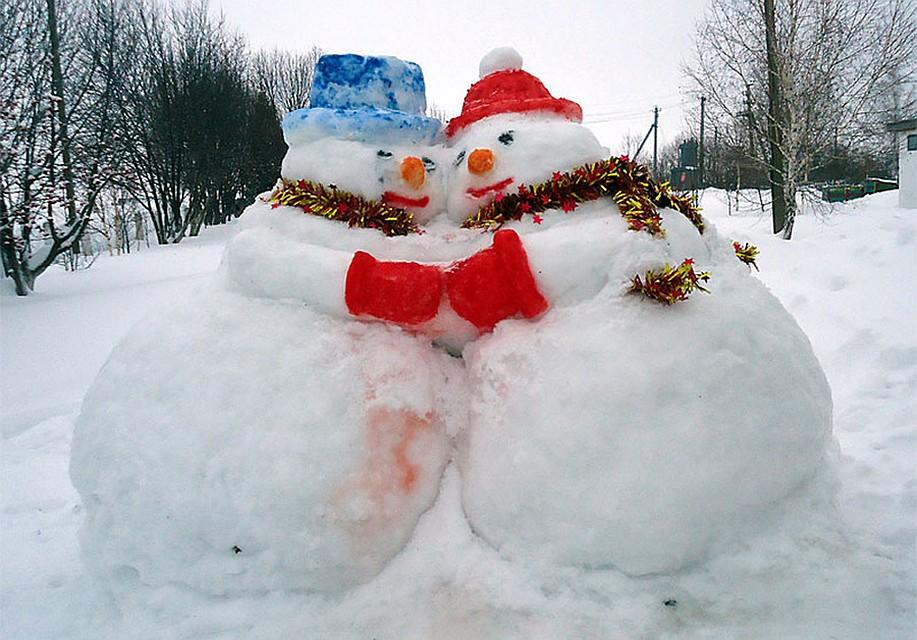 территорией фото фигур из снега своими руками мне западала душу