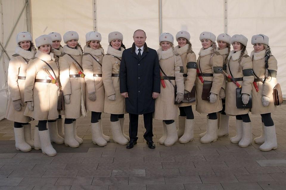 Волгоградские девчонки отрываются