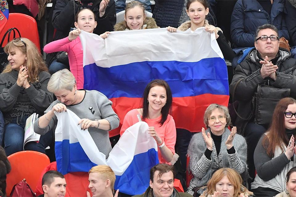 Российским атлетам как никогда нужна поддержка.