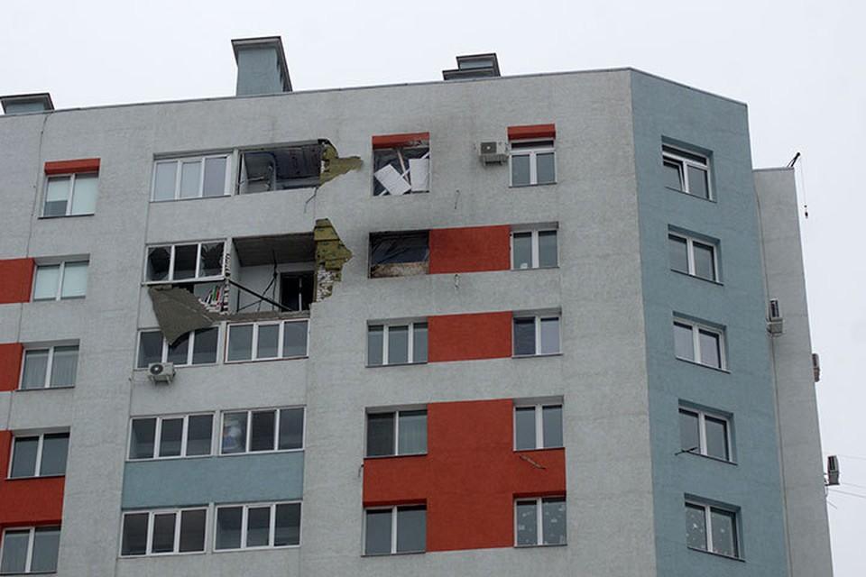 5 февраля в Самаре на улице Димитрова квартиру разнесло взрывом газового баллона