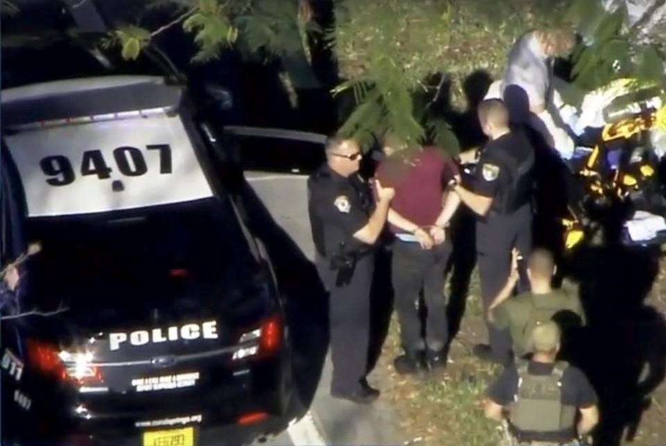 Задержание стрелка в школе Парклэнда во Флориде