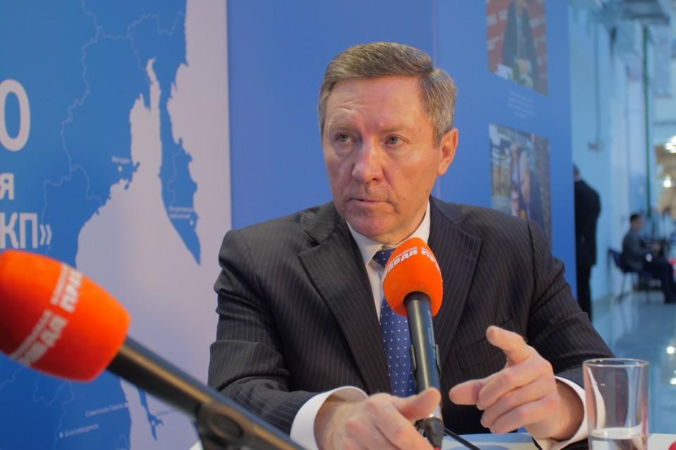 Губернатор Липецкой области Олег Королев. Фото: Александр Ширков