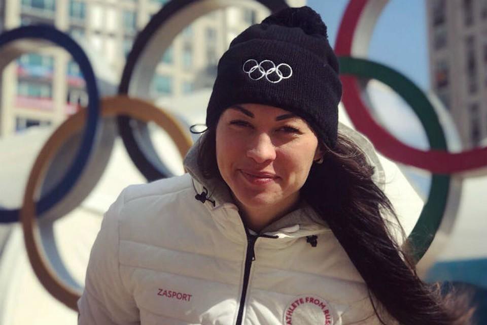 Ангарчанка Анастасия Кочержова на Олимпиаде 2018 пока идет на 14-м месте. Фото: соцсети.