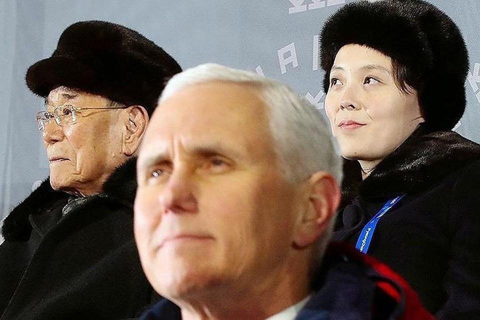 Делегация КНДР в последний момент отказалась от встречи с Пенсом в Сеуле