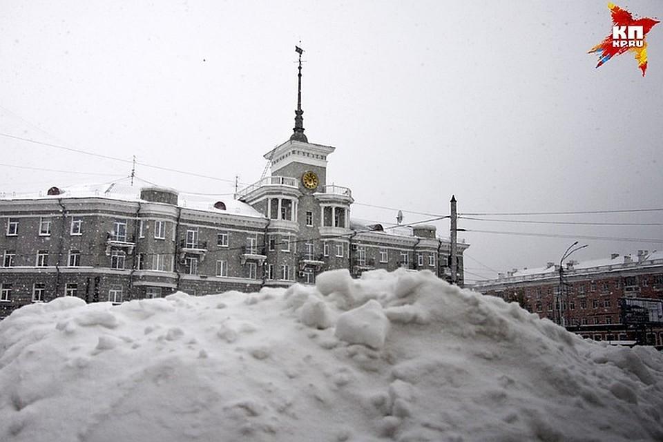 Барнаул фото зима сегодня образом, стороны