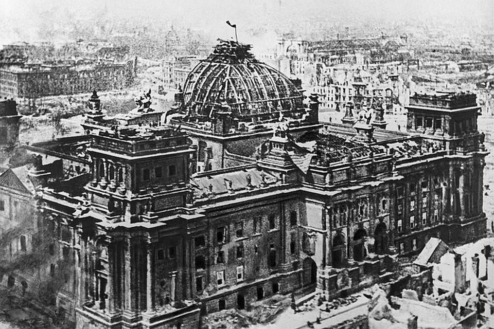 Перед тем, как идти в бой, командирам подразделений предоставили макет немецкой столицы, который был собран благодаря данным аэрофотосъемки