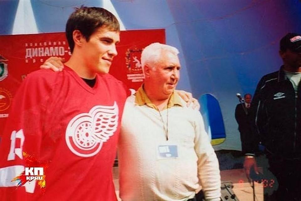 Дацюк каждый год приезжал в гости к Валерию Георгиевичу. Фото: личный архив Валерия Голоухова