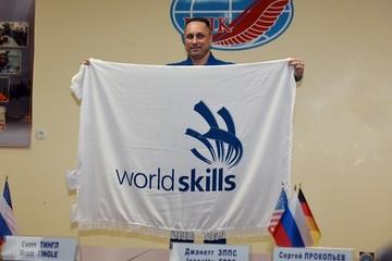 28 февраля с орбиты Земли вернется флаг WorldSkills-2019, который пройдет в Казани