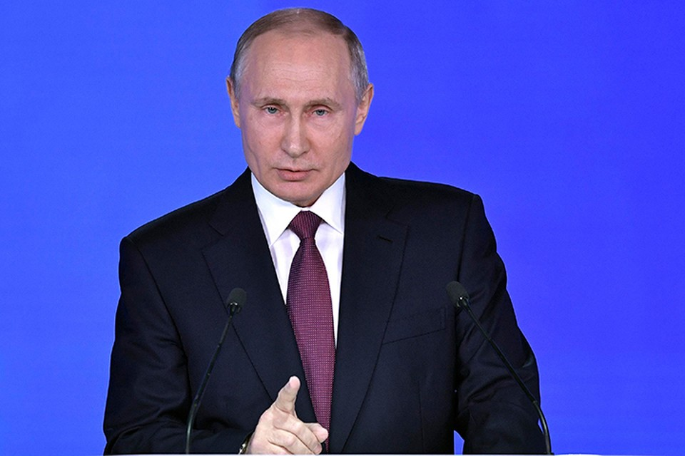 Президент сказал, что над увеличением экономического роста должны работать и правительство, и Центробанк. Фото: Михаил Климентьев/ТАСС