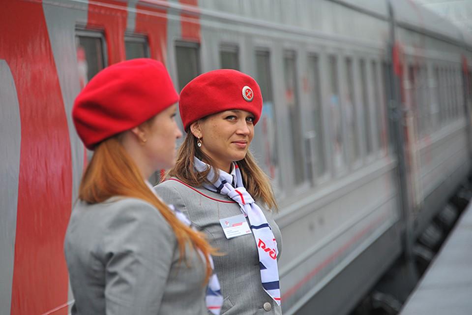 Российские железные дороги запустят между футбольными городами бесплатные поезда