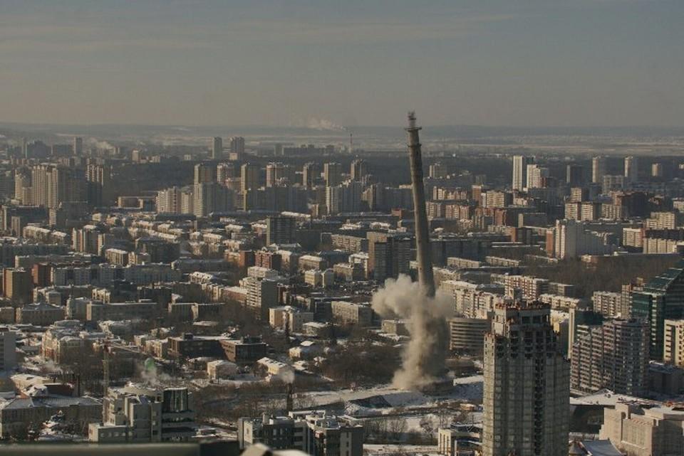 Телебашня в Екатеринбурге уже стала историей