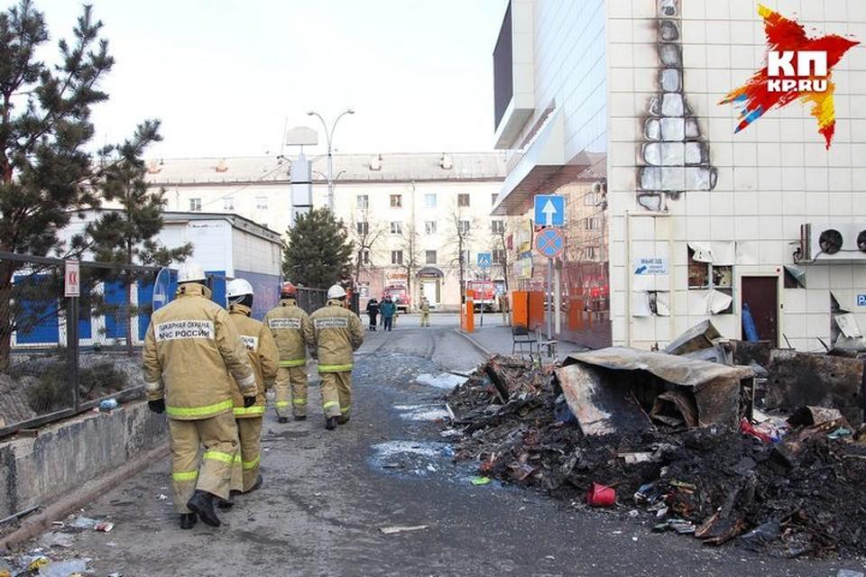 В Кемерове закончили разбор завалов в сгоревшей «Зимней вишне»