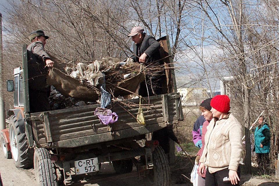 31 марта автомобили лучше оставить дома и принять участие в большой уборке города