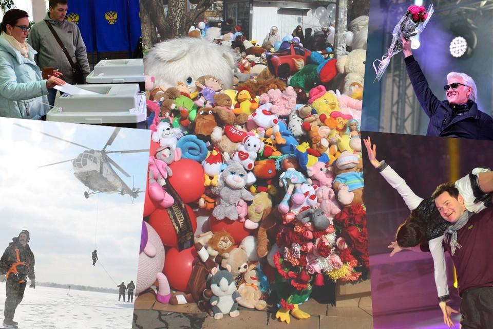 Чем запомнился сибирякам первый месяц весны, смотрите в нашей подборке фотографий