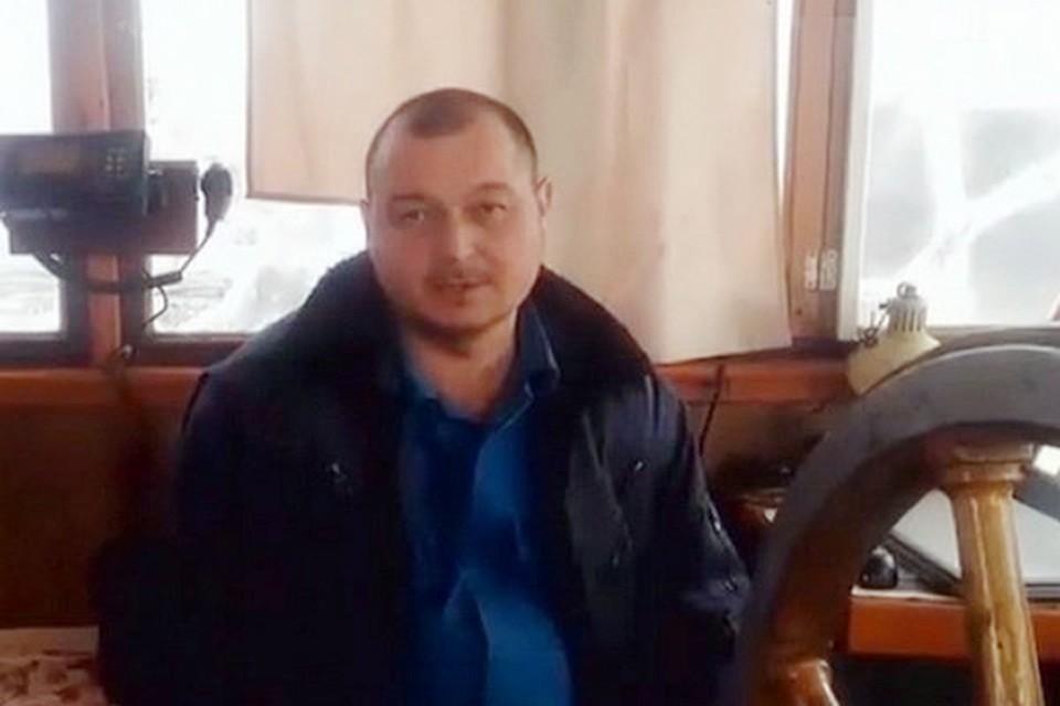 Капитана судна Владимира Горбенко
