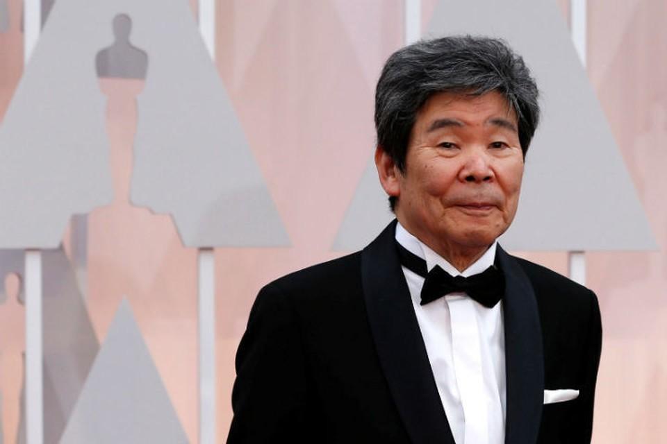 Соснователь японской анимационной студии Ghibli и режиссер Исао Такахата