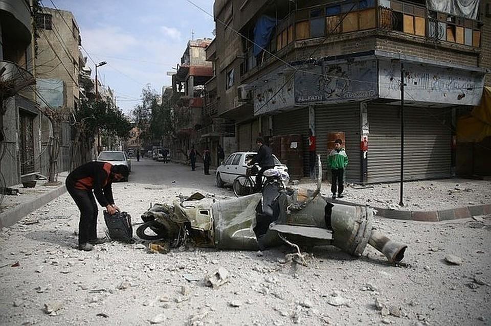 Накануне Госдеп США обвинил Россию в организации химатак в сирийской Думе