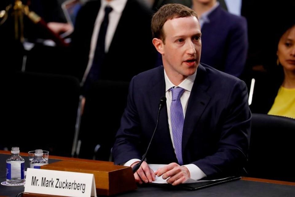 Создатель популярной социальной сети Facebook Марк Цукерберг