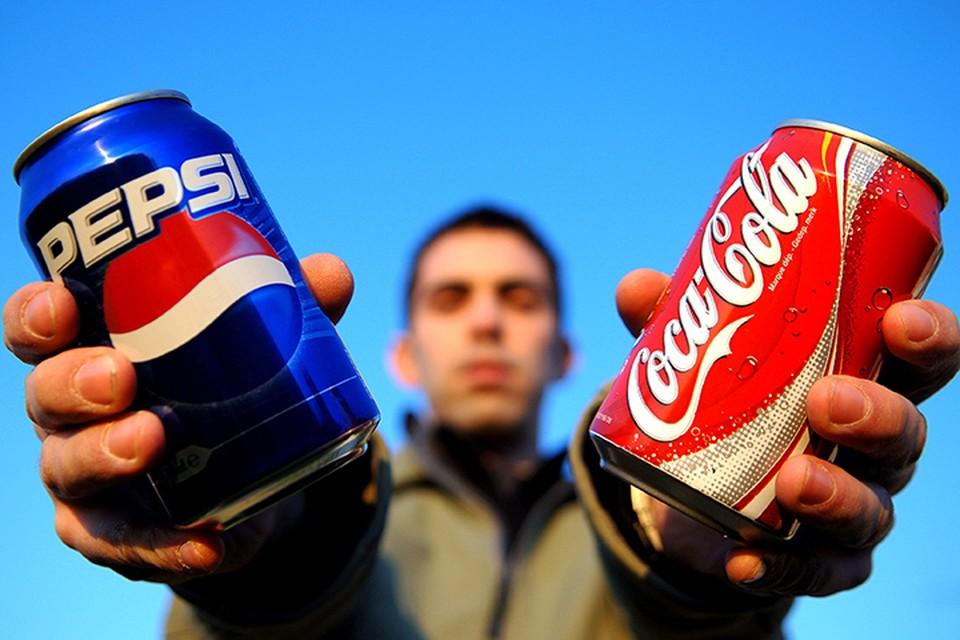 Mногие американские бренды производятся в России. Например, Coca-Сola и Pepsi. У первой в России 11 заводов, у второй - 30