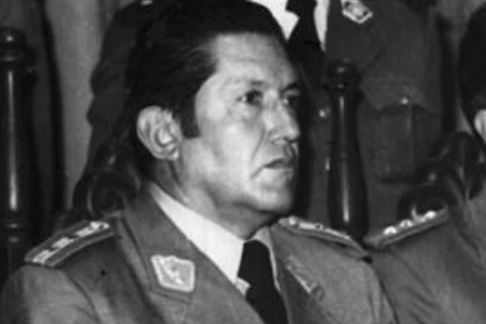 Луис Гарсиа Меса возглавлял Боливию с июля 1980 года по август 1981-го