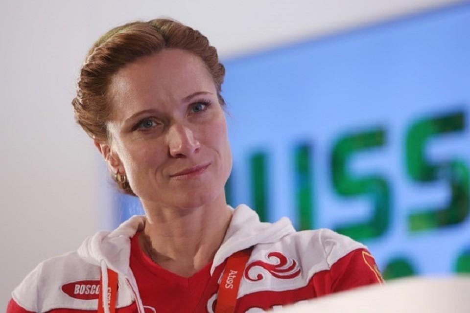 Олимпийская чемпионка по синхронному плаванию Мария Киселева