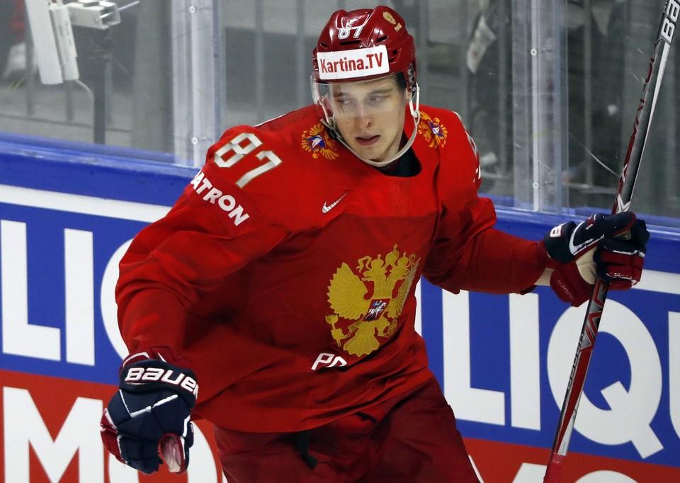 Россия сыграет со Швецией на ЧМ по хоккею.