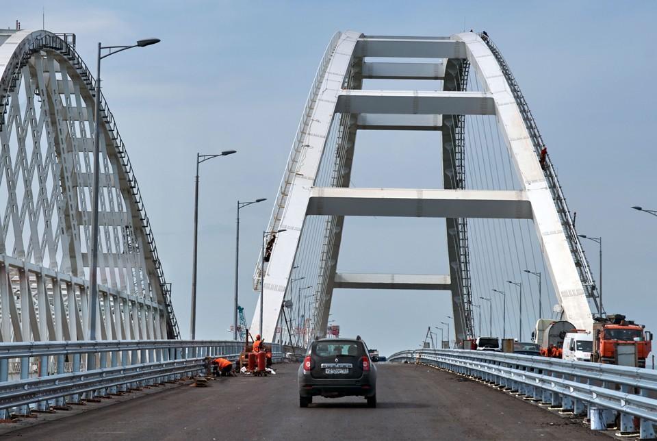 Движение по мосту открыли на полгода раньше, чем планировалось.