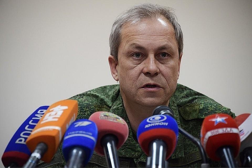 Представитель командования ВС ДНР Эдуард Басурин