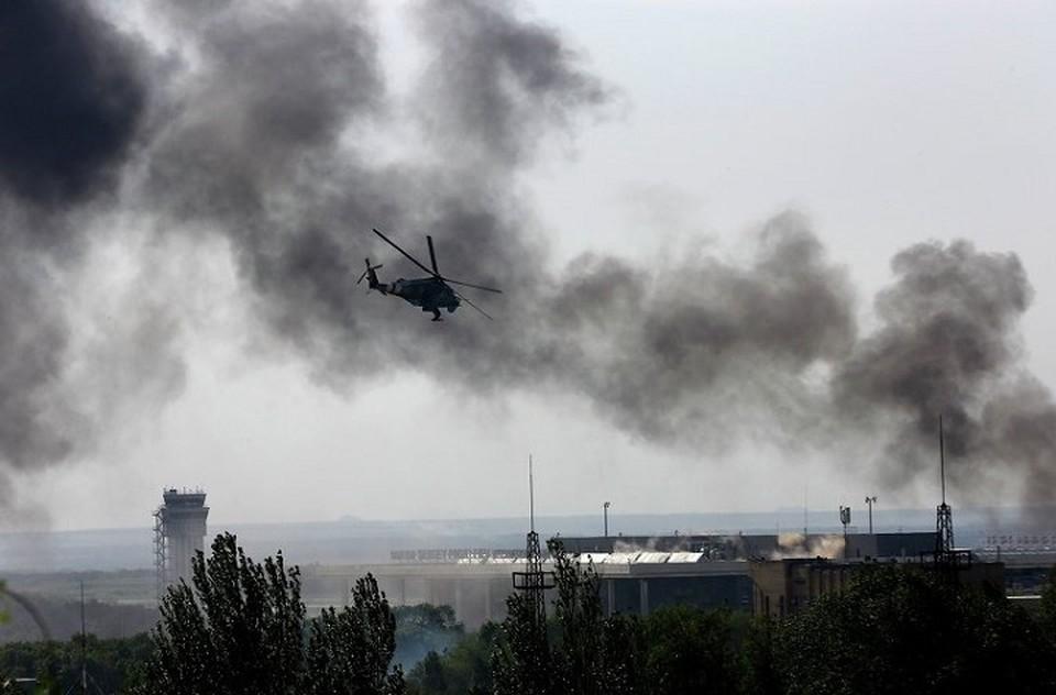 Еще 25 мая ни один человек в Донецке не поверил бы в реальность этой фотографии. Фото: doneck-news.com