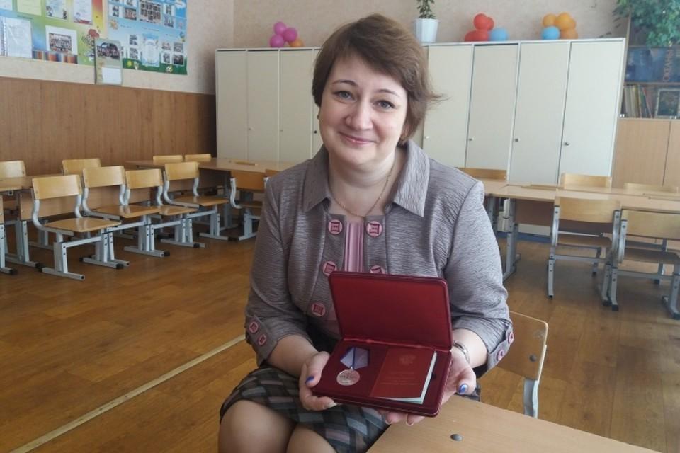 По Указу Президента РФ Наталию Шагулину наградили медалью за отвагу