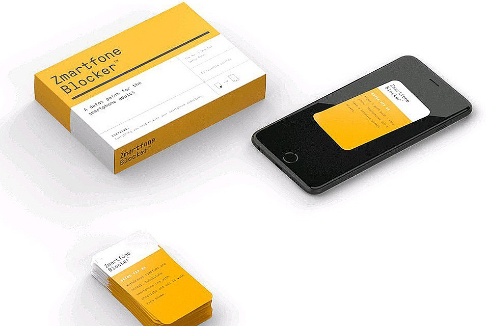 Задача пластыря - мотивировать пользователей на отказ от излишнего взаимодействия с любимым смартфоном. ФОТО Zmartfone Blocker zmartfoneblocker.com