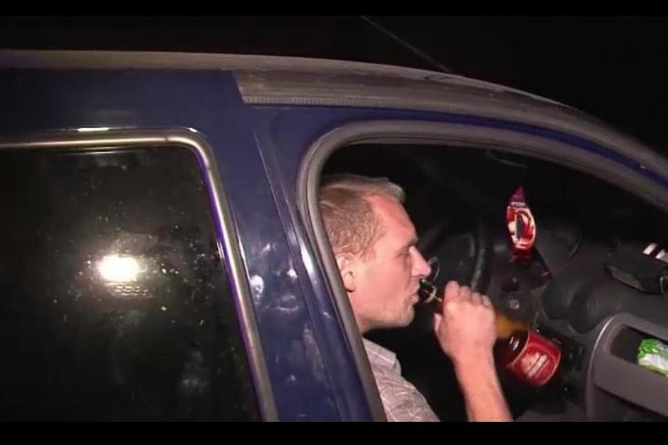 3 раз поймали пьяным за рулем