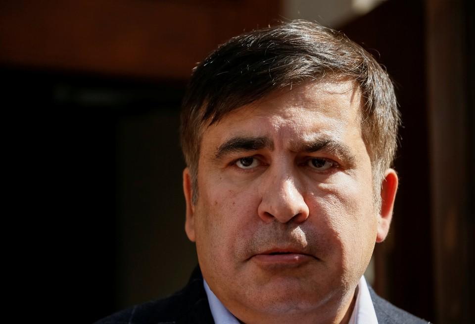 Лидер «Движения новых сил» Михаил Саакашвили