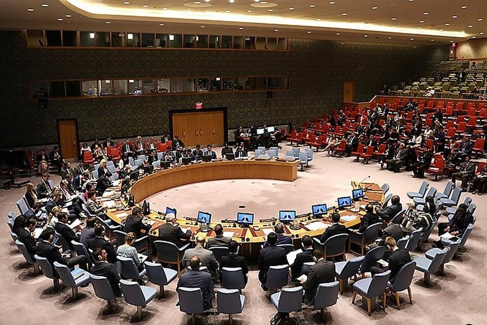 Россия председательствует в СБ ООН с 1-го по 30-е июня