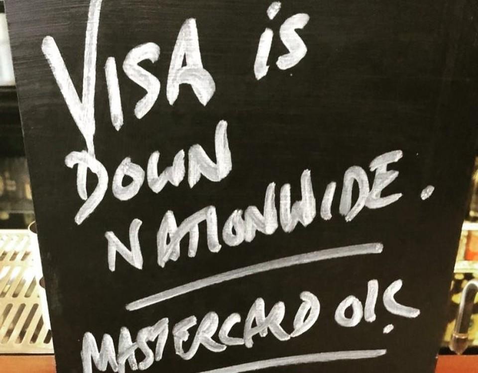 Visa ликвидировала в сбой в работе платежной системы