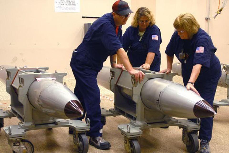 Ранее законодатели США поддержали создание нового ядерного оружия для сдерживания России