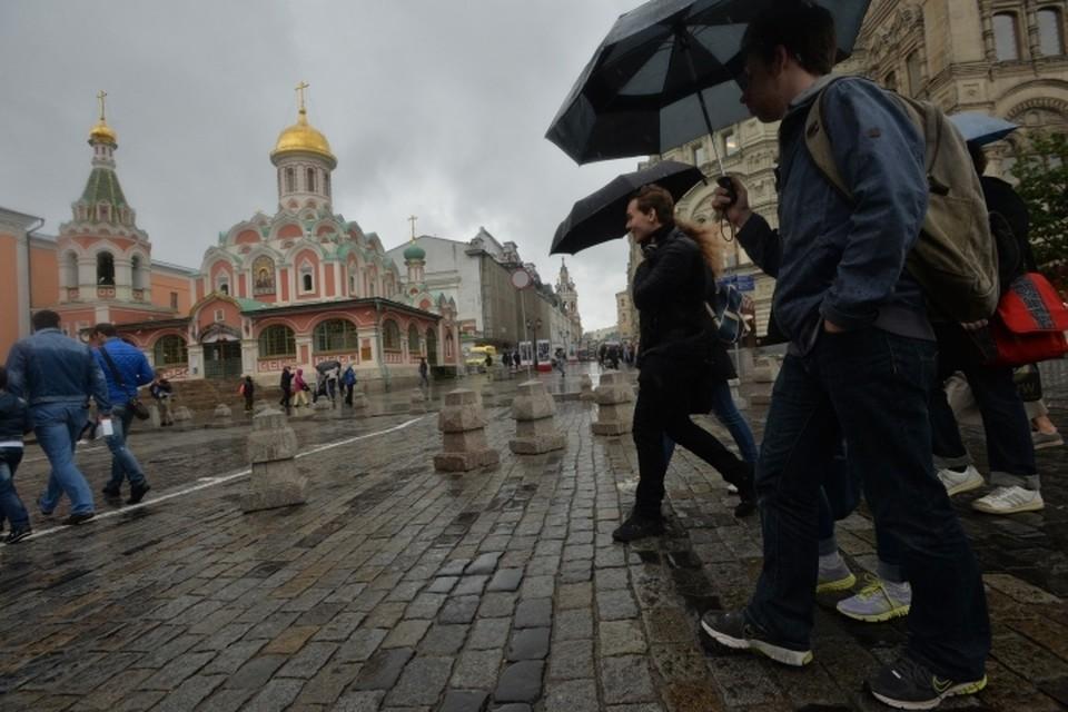В среду, 6 июня, в Москве местами пройдет небольшой дождь