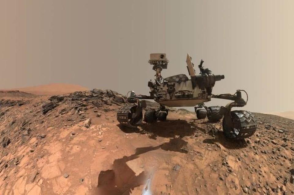 На Марсе обнаружены древние органические молекулы