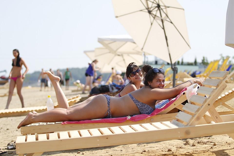 лето пляж жара фото значит, что