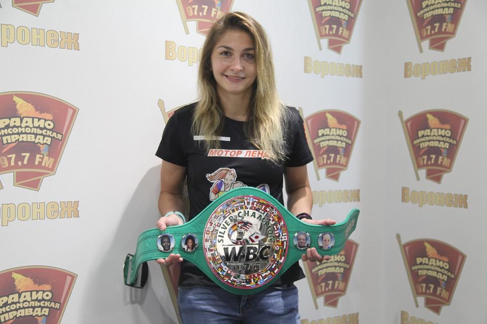 Спортсменка из Воронежа Татьяна Зражевская рассказала, как стала чемпионкой мира по боксу