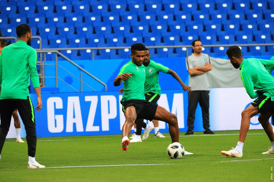 Пришла ли в себя сборная Саудовской Аравии после поражения от России - покажет матч с Уругваем. Фото: Денис Демков