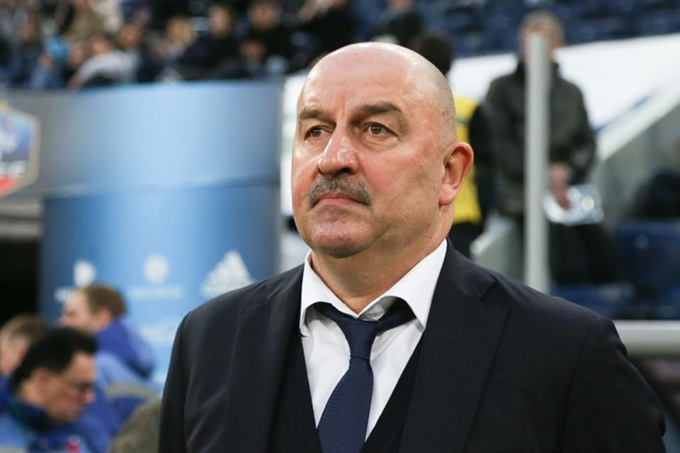 Станислав Черчесов - тренер сборной России по футболу