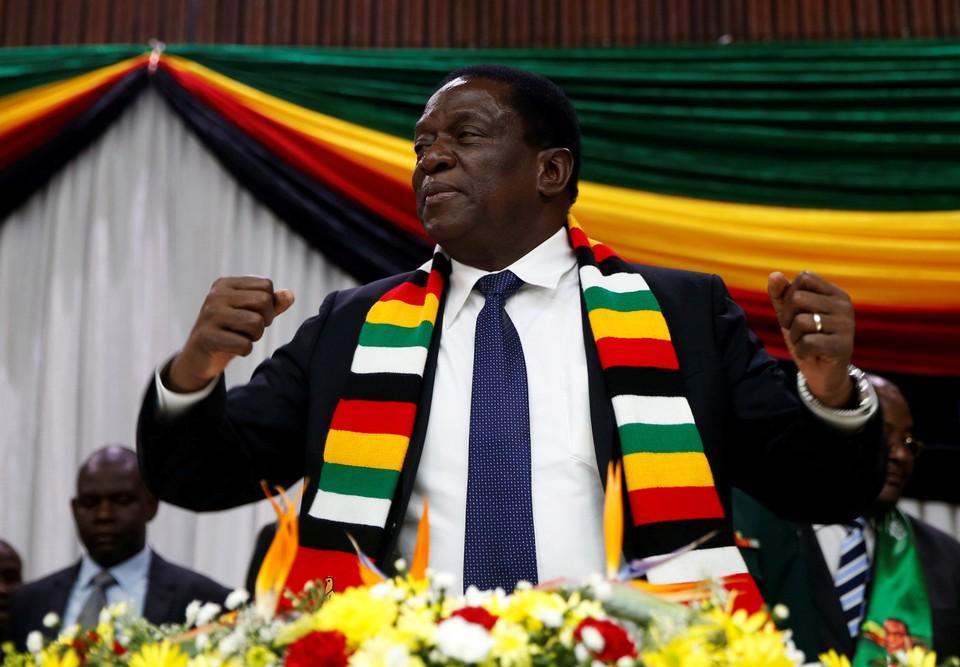 Президент Зимбабве Эммерсон Мгангагва
