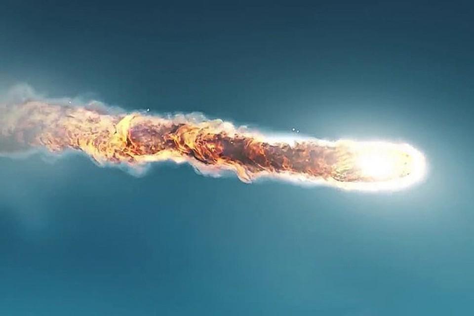 Небо над Подкаменной Тунгуской озарило второе солнце, ярче и горячее первого Фото: стопкадр из фильма «Где же Тунгусский наш метеорит?»;