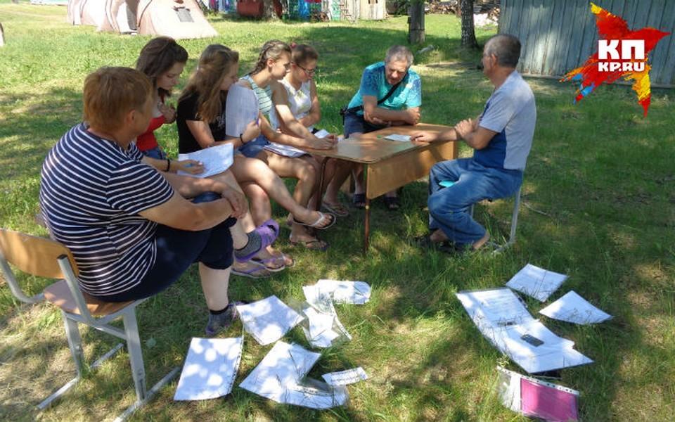 Ребятам понравилось учиться летом Фото: Наталья НАУМОВА