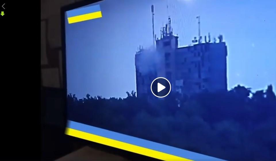 ВСУ обстреливают жилые кварталы. Фото: скриншот видео