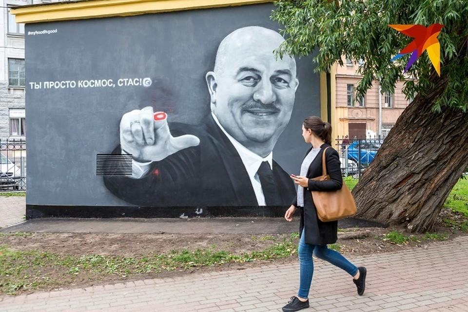 В Петербурге изображению Черчесова ампутировали палец
