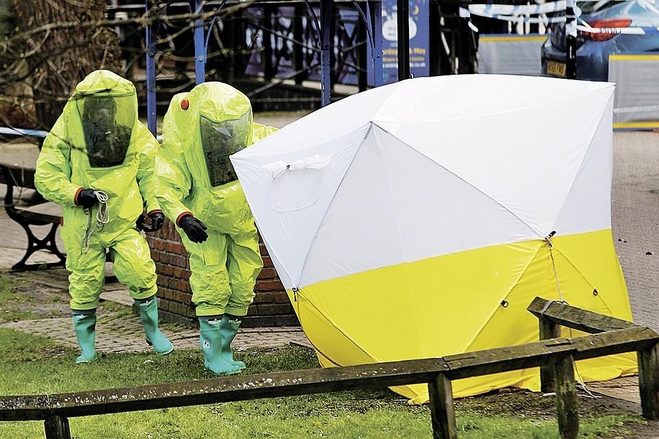 Российское посольство потребует от Великобритании рассекретить программы по синтезу боевых отравляющих веществ