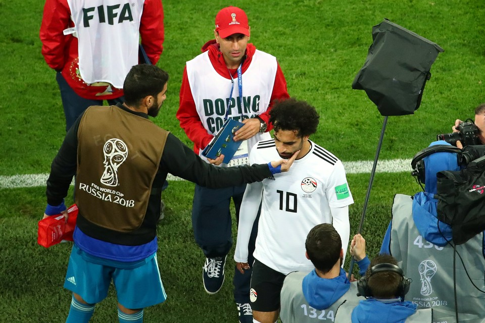 На чемпионате мира по футболу не нашли допинга.